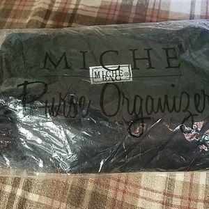 Miche black purse organizer
